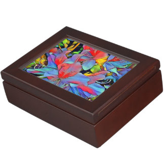 Floral ArtStudio wonderful flowers Keepsake Box