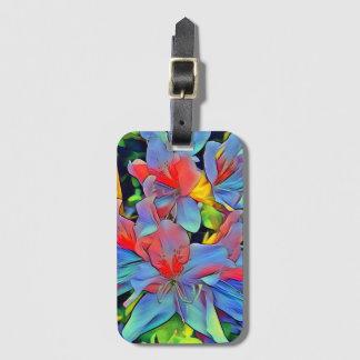Floral ArtStudio wonderful flowers Luggage Tag