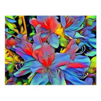 Floral ArtStudio wonderful flowers Postcard