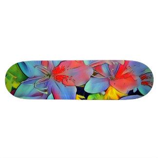 Floral ArtStudio wonderful flowers Skateboard Deck
