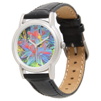 Floral ArtStudio wonderful flowers Watch