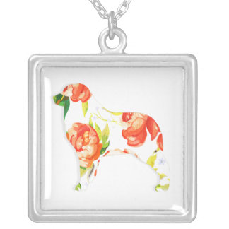 Floral Aussie Silver Plated Necklace