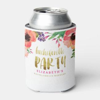 FLORAL BACHELORETTE PARTY Can Cooler