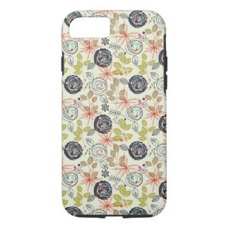 Floral background iPhone 7 case