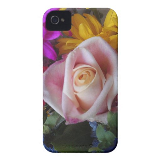 Floral Barely There Case for BlackberryBold Case-Mate Blackberry Case