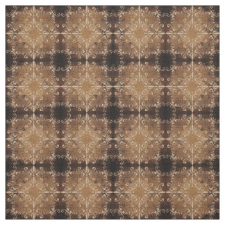 floral baroque pattern on grunge background fabric