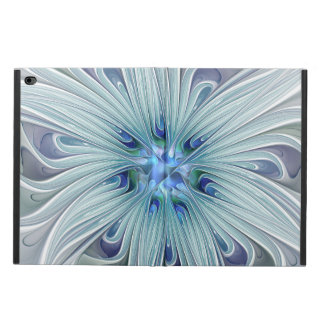 Floral Beauty Abstract Modern Blue Pastel Flower Powis iPad Air 2 Case