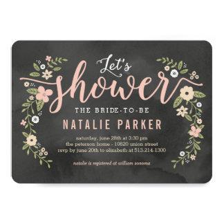 Floral Beauty Editable Color Bridal Shower Invite