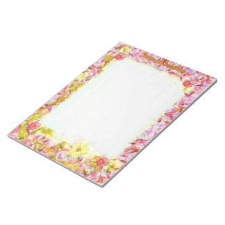 Floral Big Notepad