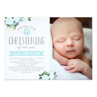 Christening Invitations from Zazzle