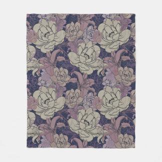 Floral Blooms Fleece Blanket