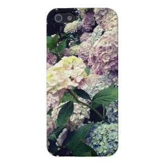 Floral Blossoms Hydrangea Photo  Case iPhone 5 Cover