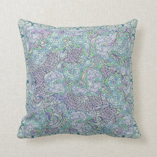 Floral Boho Chic Cushion
