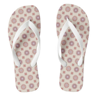 floral boho pattern thongs