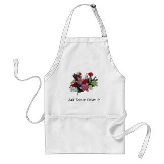 Floral Bouquet Standard Apron
