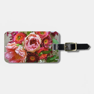 Floral bouquet, Luggage Tag