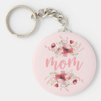 Floral Bouquet   Mother's Day Key Ring