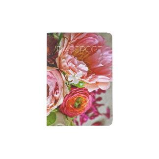 Floral bouquet, Passport Holder