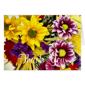 Floral Bouquet Thank You Cards
