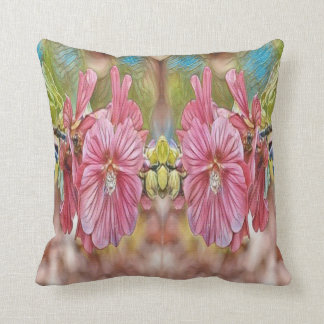 floral branch throw pillow