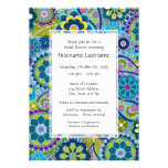 Floral Bridal Shower or Engagement Party Custom Invite