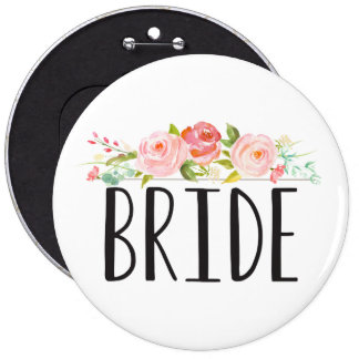 Floral | Bride Button