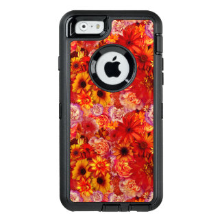 Floral Bright Rojo Bouquet Rich Red Hot Daisies OtterBox iPhone 6/6s Case