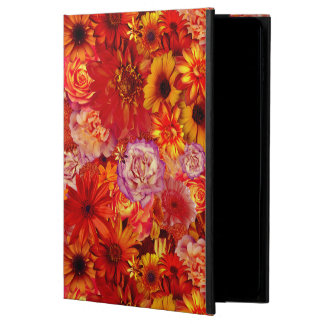 Floral Bright Rojo Bouquet Rich Red Hot Daisies Powis iPad Air 2 Case