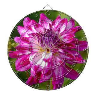 Floral Burst Dartboard