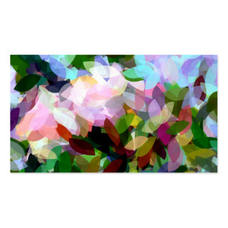FLORAL Double-Sided STANDARD BUSINESS CARDS (Pack OF 100)