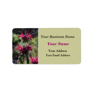 Floral Business Label Address Label