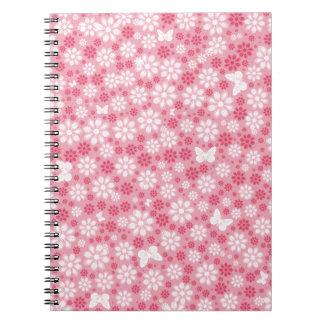 Floral Butterflies Notebook