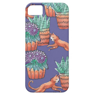 floral cats barely there iPhone 5 case