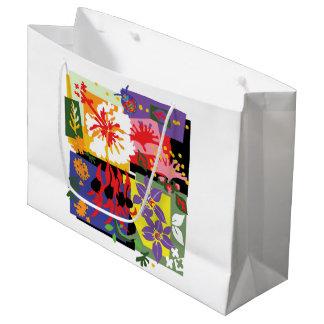 Floral Celebration - Glossy gift bag