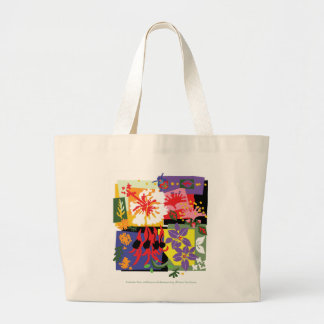 Floral Celebration - Jumbo Tote