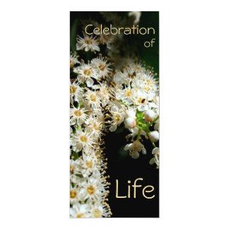 Floral Celebration of Life 2 Invitation