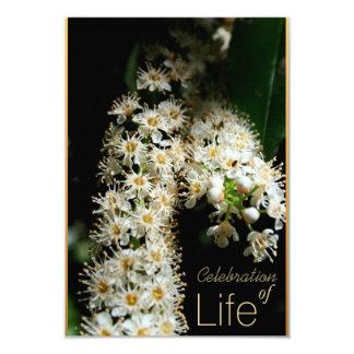 Floral Celebration of Life 3 Invitation