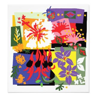 Floral celebration - Poster