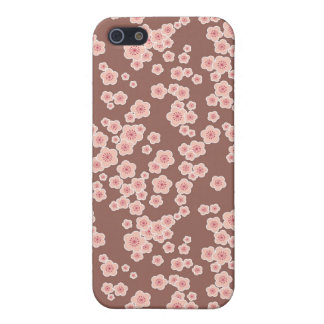 floral cherry blossoms pink flowers iPhone 5/5S cover