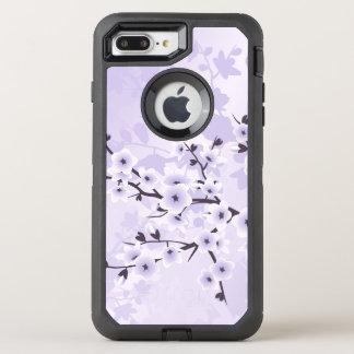 Floral Cherry Blossoms Purple OtterBox Defender iPhone 8 Plus/7 Plus Case