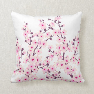 Floral Cherry Blossoms (Sakura) Cushion