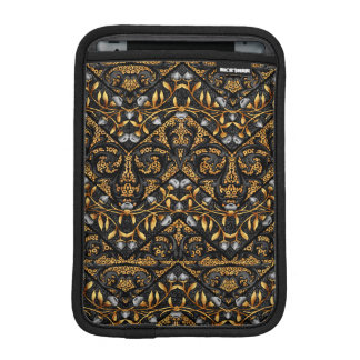 Floral Chevron Paisley Filigree ZigZag Flowers iPad Mini Sleeve
