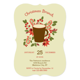 Christmas Brunch Invitations & Announcements
