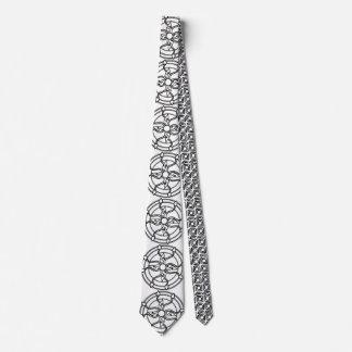 Floral Circle Necktie