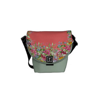 Floral Classic Commuter Bags