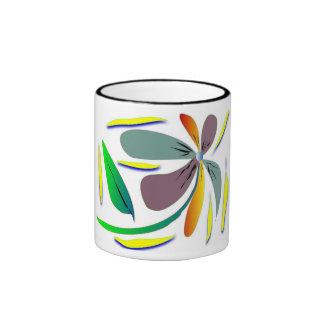 floral classic mug