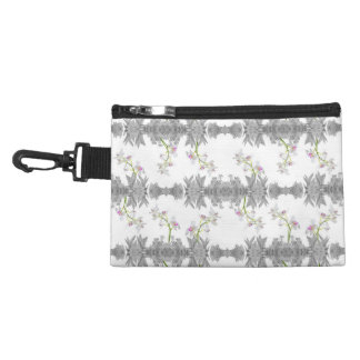 Floral Collage Pattern Accessory Bag