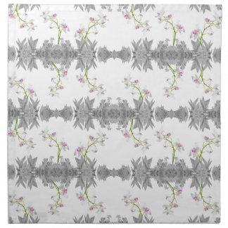 Floral Collage Pattern Napkin