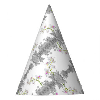 Floral Collage Pattern Party Hat