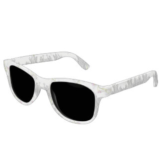 Floral Collage Pattern Sunglasses